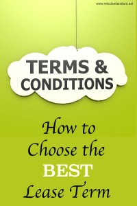 How to Choose the Best Lease Term