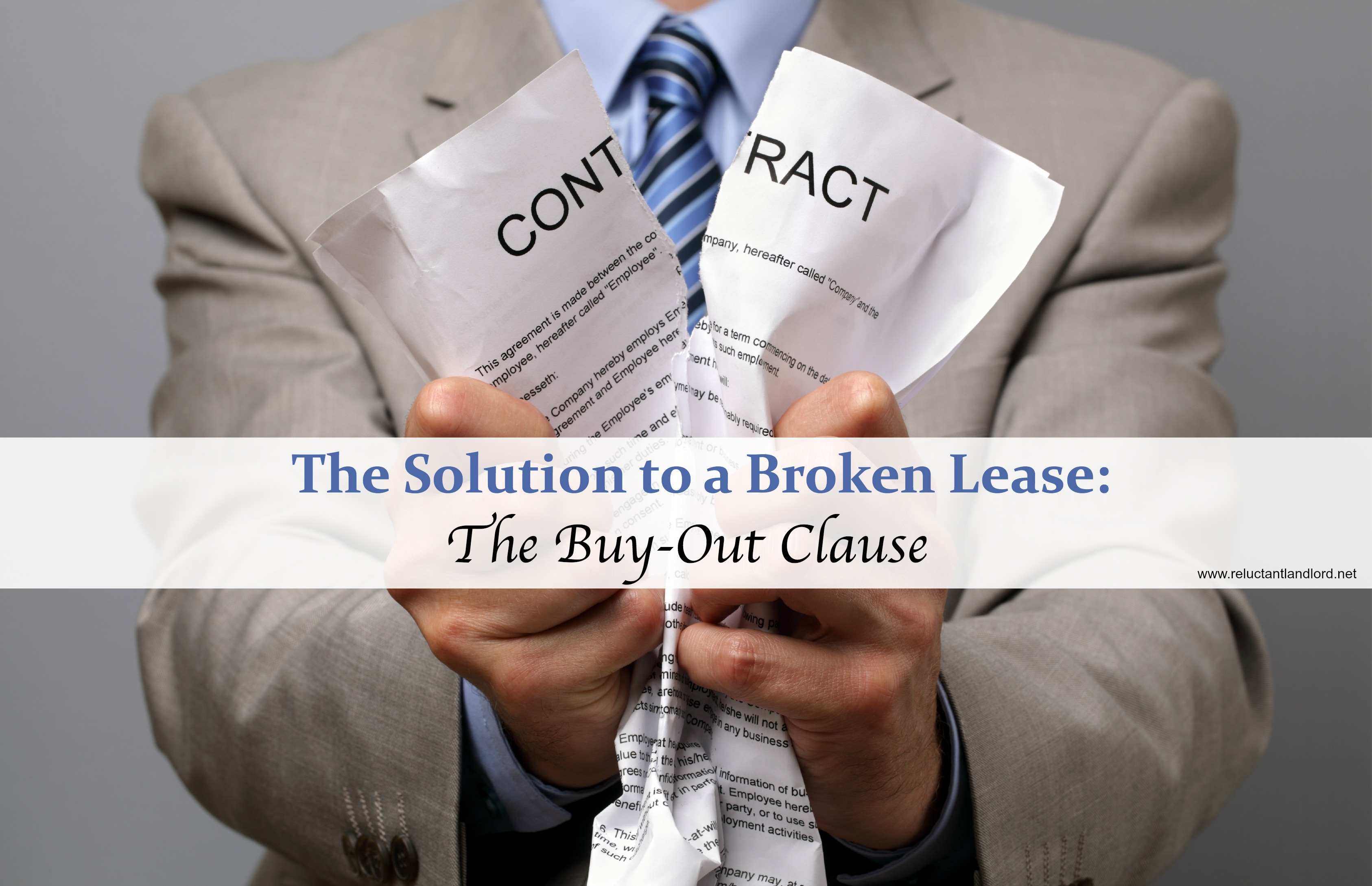 The Solution to a Broken Lease: The Buy-Out Clause - The Reluctant ...