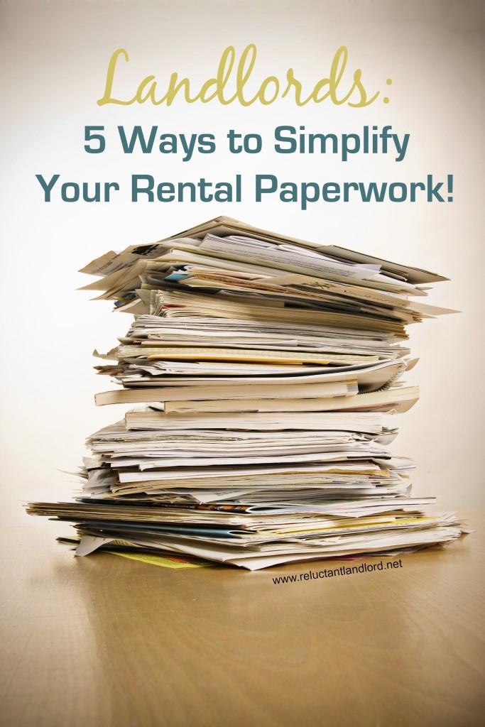 Rental Paperwork