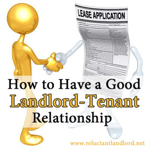 How to Have a Good Landlord and Tenant Relationship