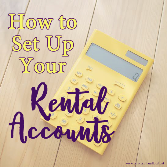 How to Set Up Your Rental Accounts