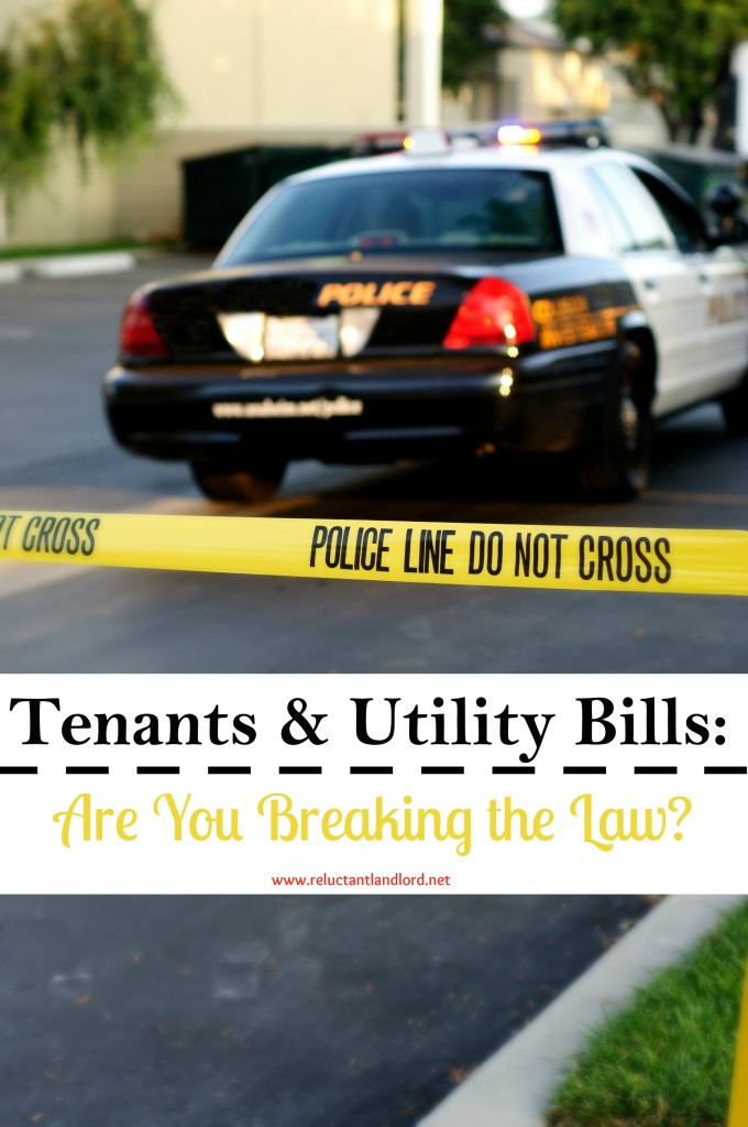 Tenants and Utility Bills: Are You Breaking the Law?