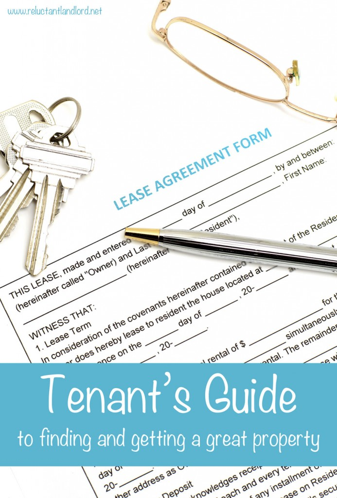 Tenant's Guide to Finding and Getting a Great Property