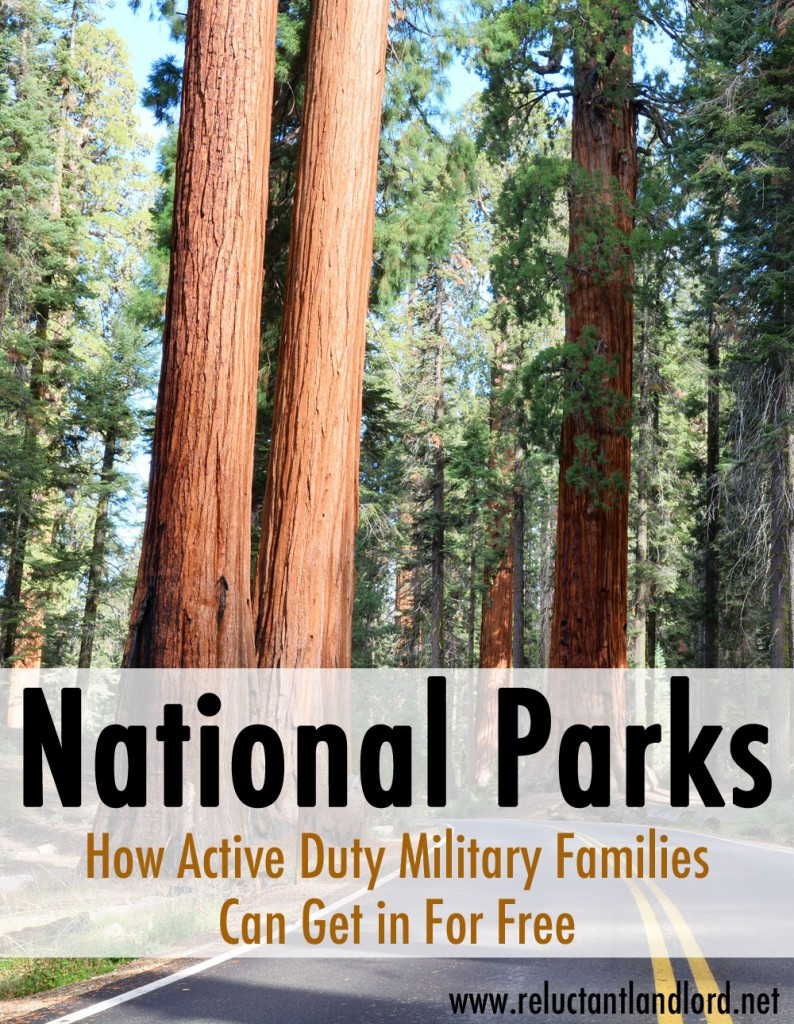 How Military Families can get into the National Parks for FREE