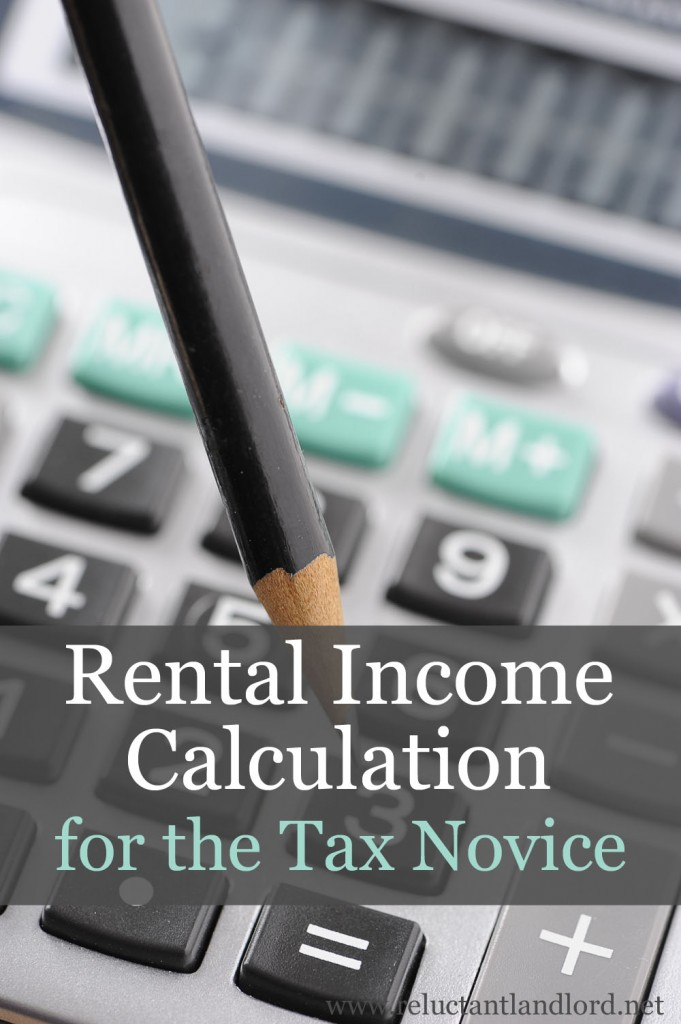 Rental Income Calculation for the Tax Novice