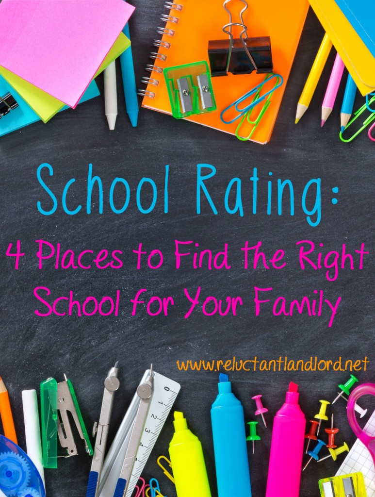 School Rating: 4 Places to Find the Right School for your Family