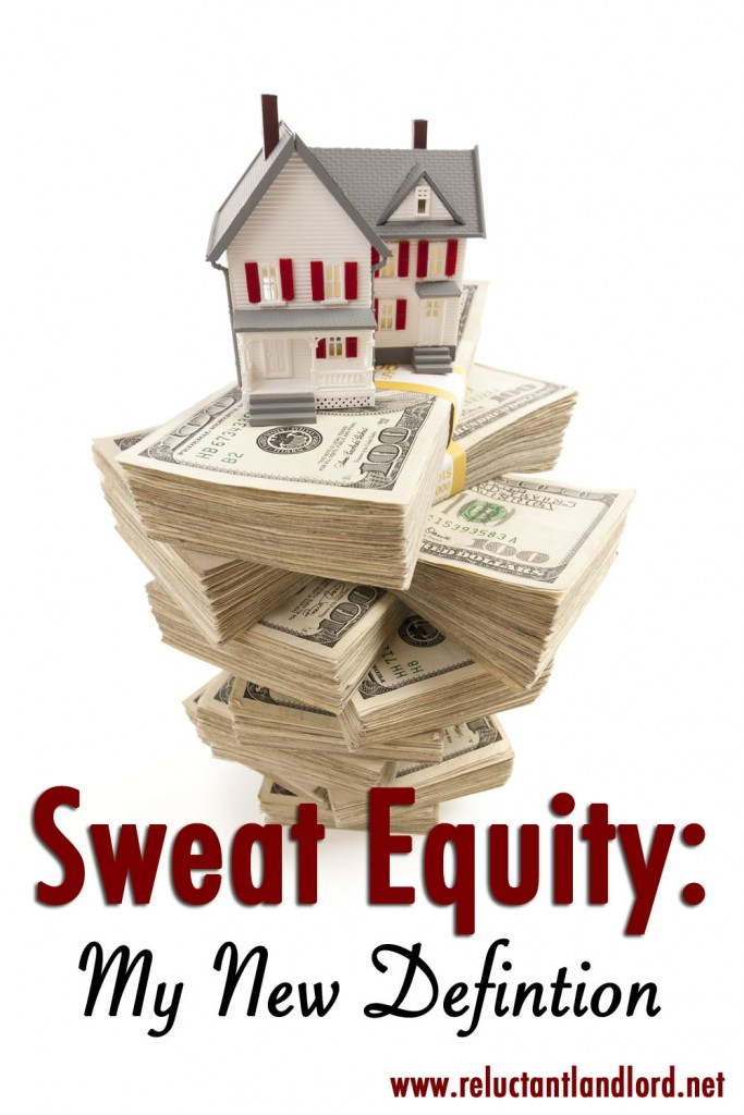 Sweat Equity: My New Definition