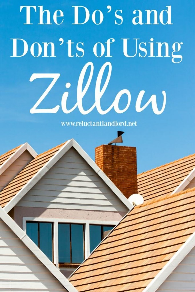 The Do's and Don't of Using Zillow