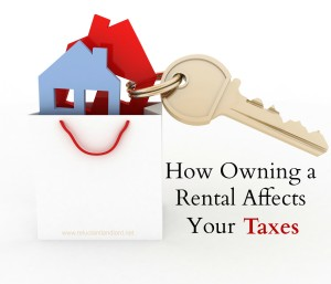 How Owning a Rental Affects Your Taxes