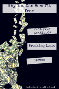 Break Lease Clause: From a Tenant's Point of View