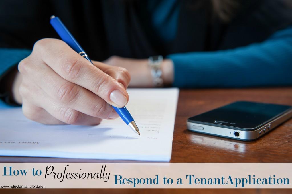 Tenant Application