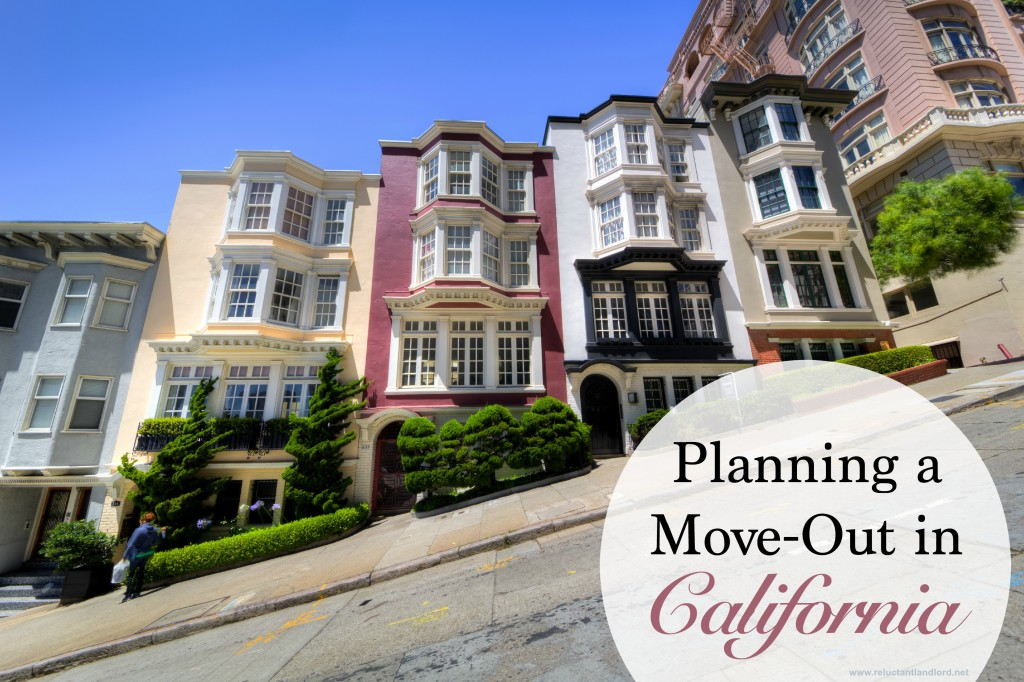Planning a Move-Out in California