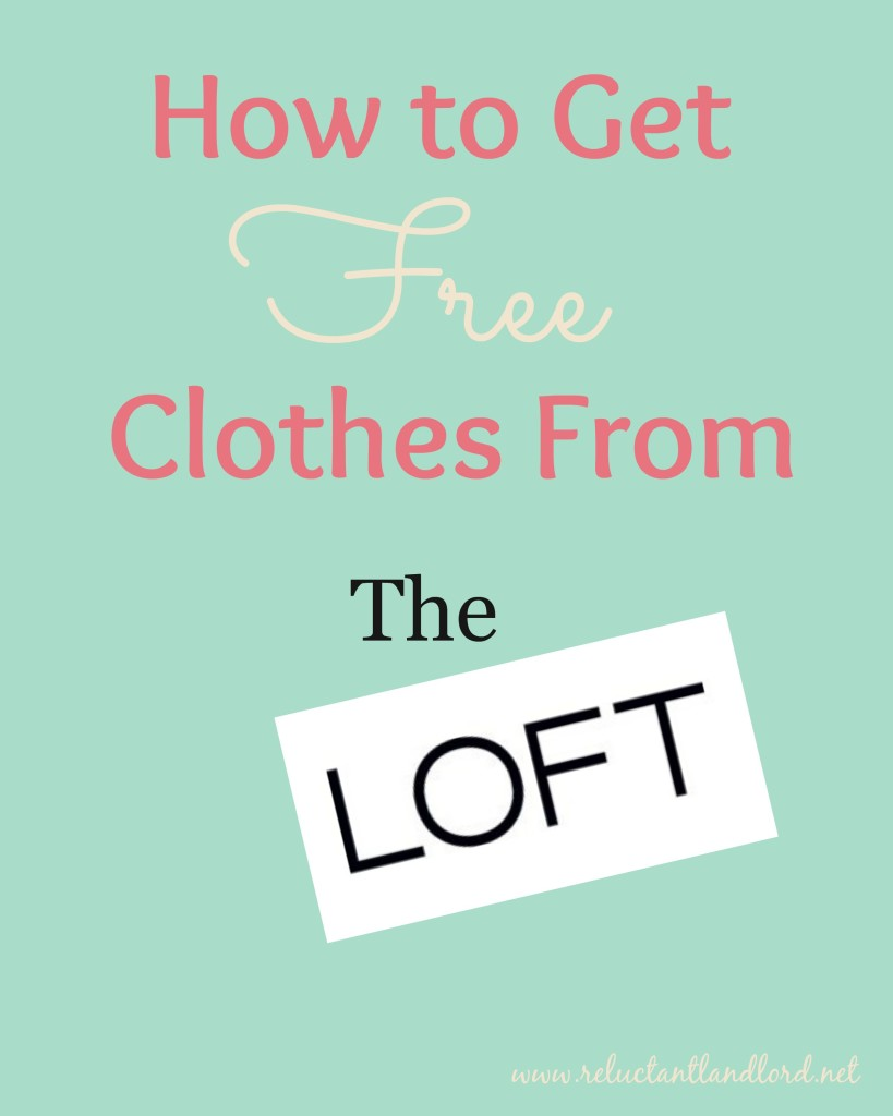 Free Clothes From the Loft