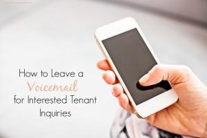 tenant inquiries
