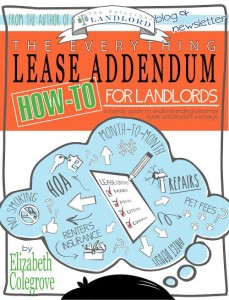 The Everything Lease Addendum: How-to For Landlords