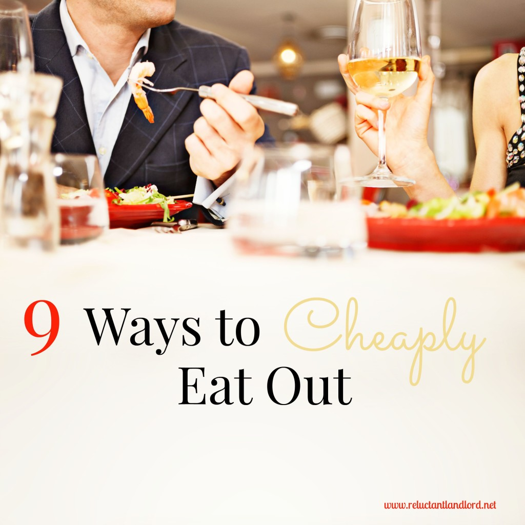 9 Ways to Cheaply Eat Out