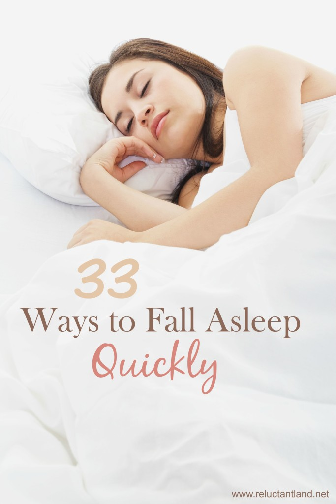 33 Ways to Fall Asleep Quickly
