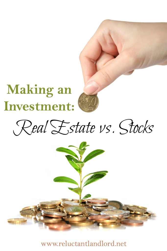 an investment real estate vs stocks the