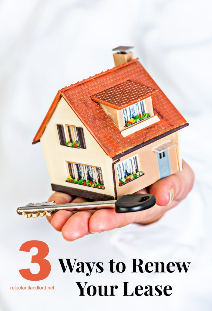 3 Ways to Renew Your Lease