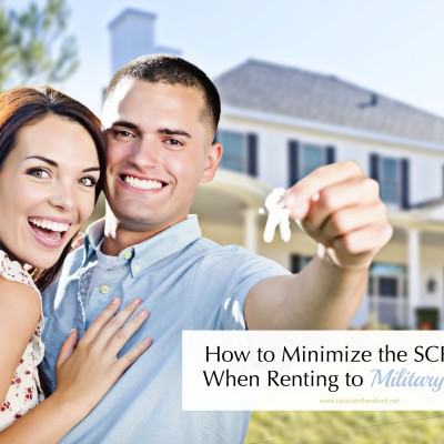How to Minimize the SCRA Risk When Renting to Military Families