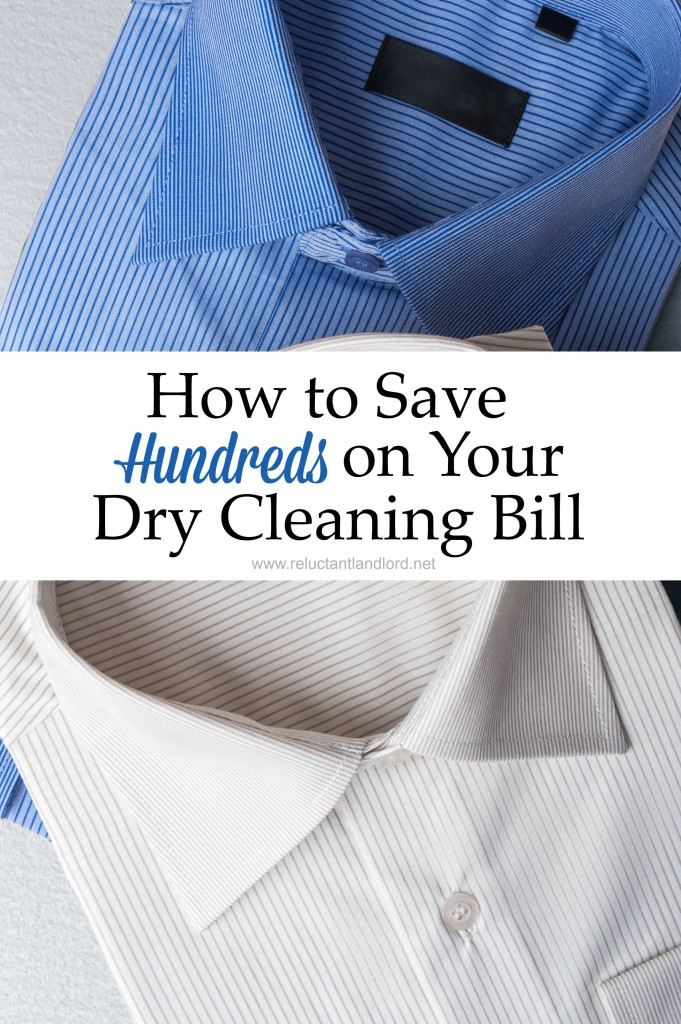 How to Save Hundreds on Your Dry Cleaning Bill
