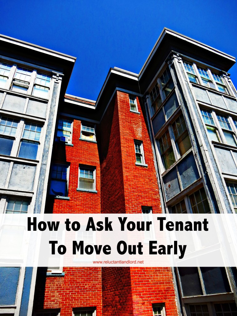 How to Ask Your Tenant to Move Out Early