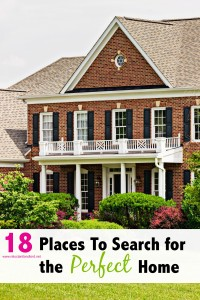 18 Places To Search for the Perfect Home