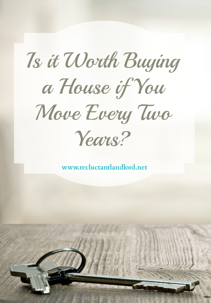Is it Worth Buying a House if You Move Every Two Years?