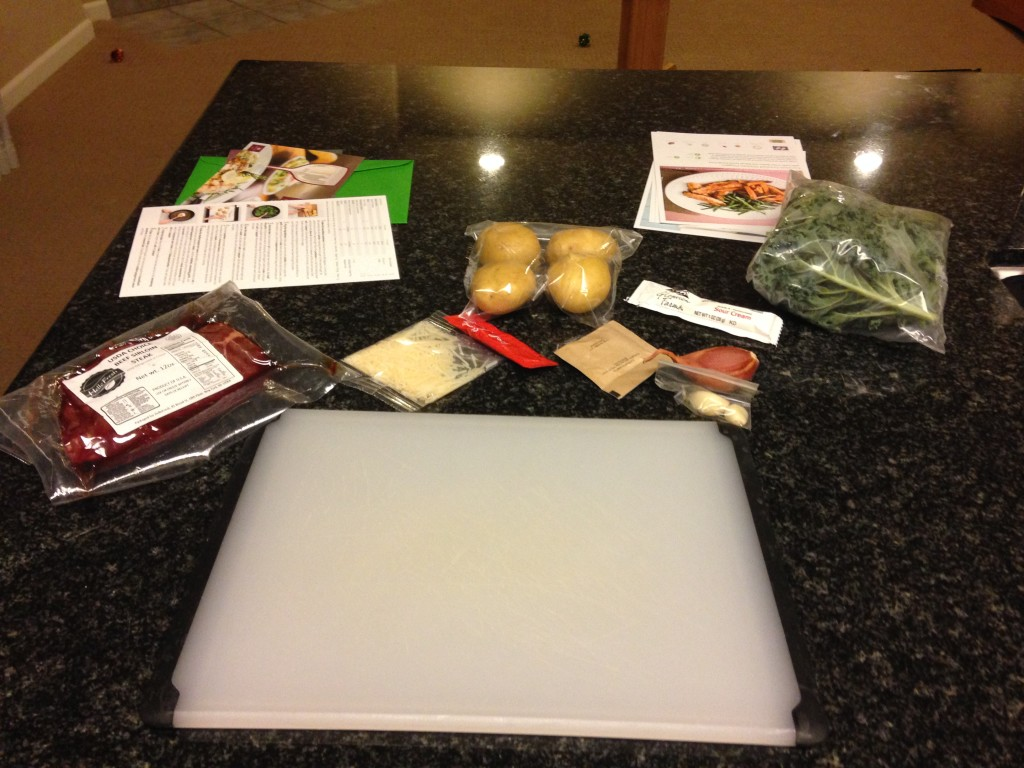 Hello Fresh Ingredient All Laid Out