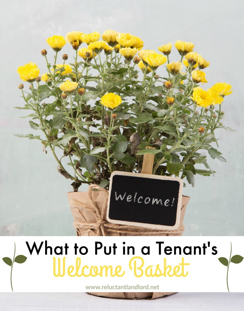 What to Put in a Tenant's Welcome Basket