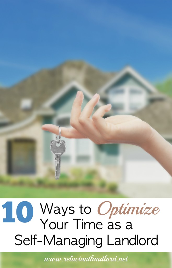 10 Ways to Optimize Your Time as a Self-Managing Landlord