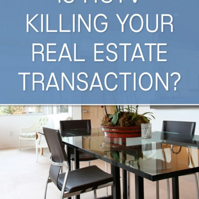 Is HGTV Killing your Real Estate Transaction?