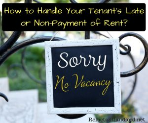 How to Handle Your Tenant's Late or Non-Payment of Rent?