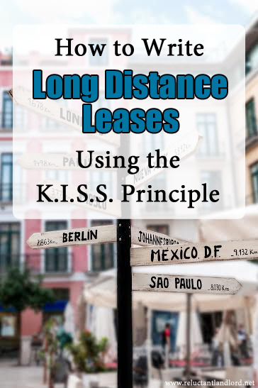 Write Long Distance Leases using the K.I.S.S. Principle