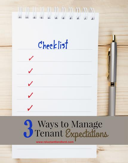 3 Ways to Manage Tenant Expectations