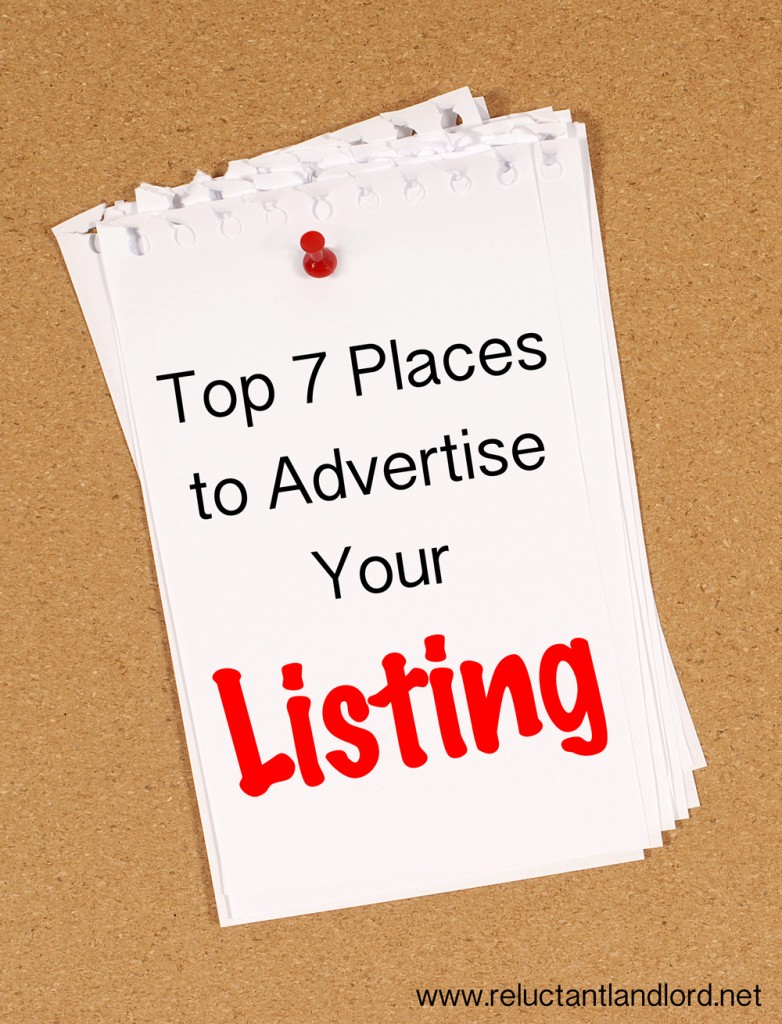 Top 7 Places to Advertise Your Listing