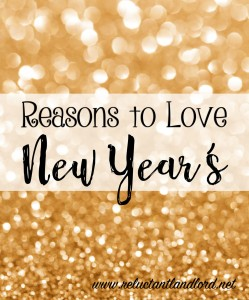 Reasons to Love New Year's