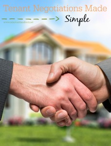 Tenant Negotiations Made Simple!