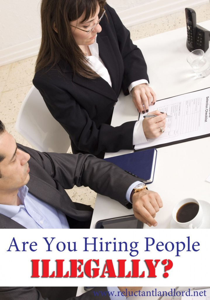 Are You Hiring People Illegally in Your Real Estate Business?