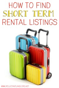 How to Find Short Term Rental Listings