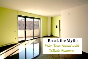 Price your Rental with whole numbers