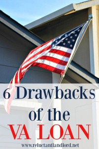 6 drawbacks to the VA Loan
