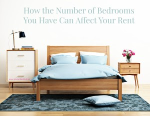 Bedrooms can affect your rent