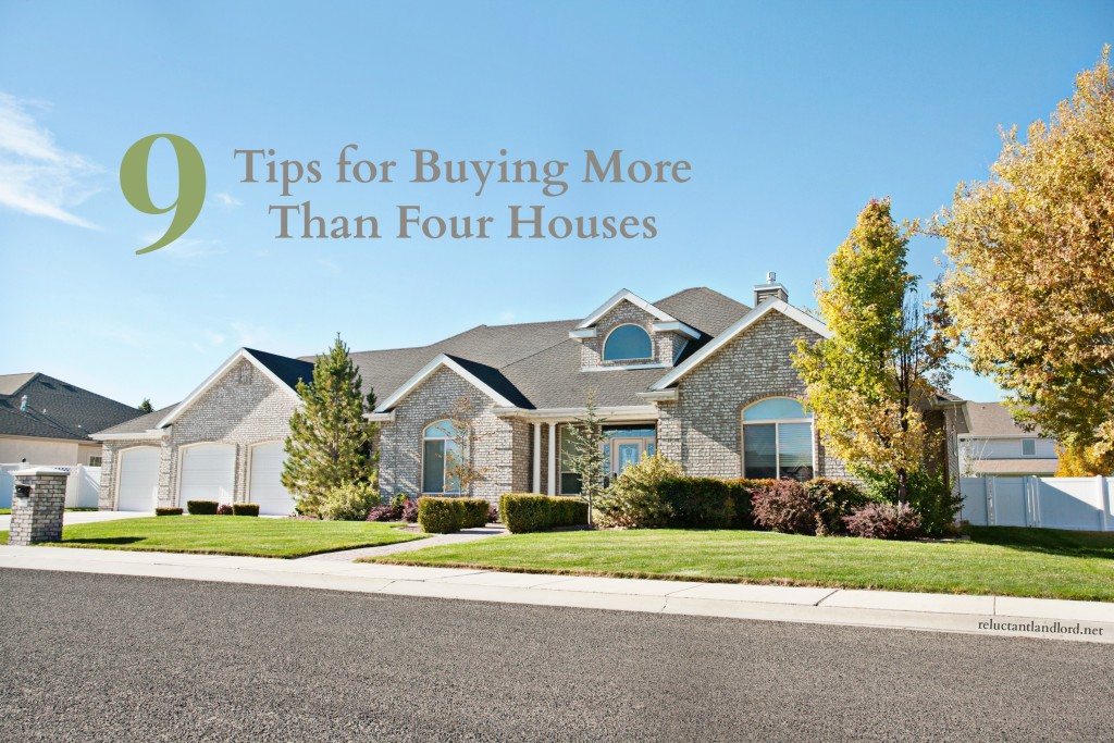 Buying More than four houses