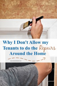 tenants to do repairs