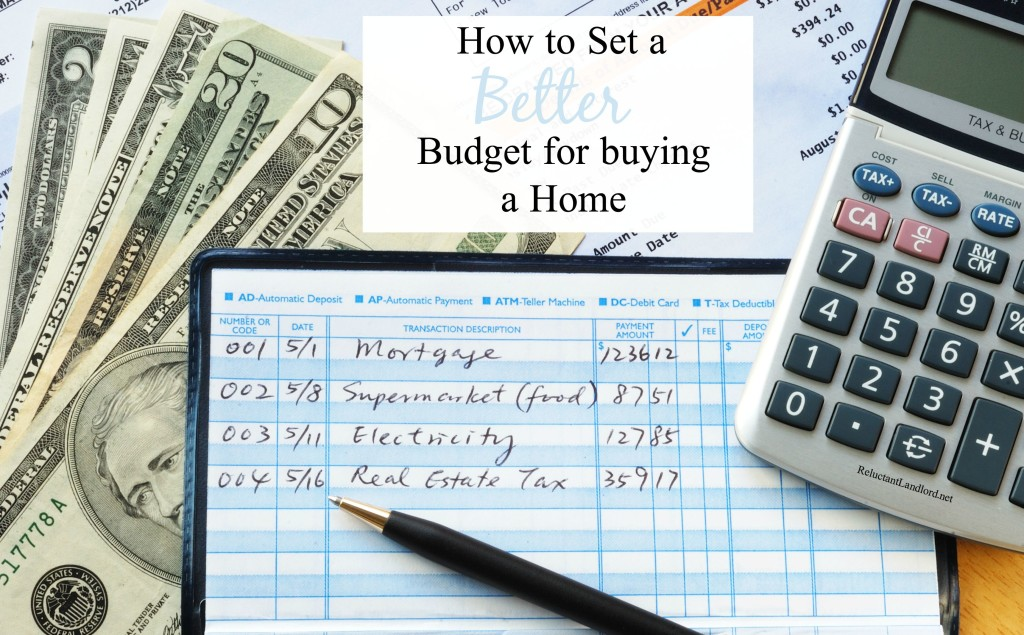 Budget for Buying a Home