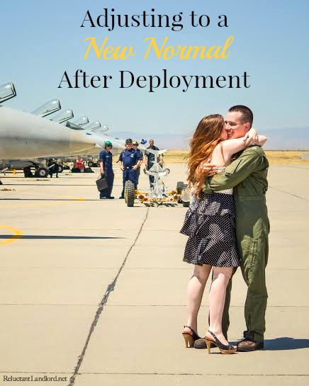 Adjusting to a New Normal After Deployment