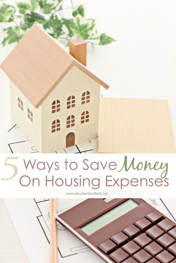 5 Ways to Save Money on Housing Expenses