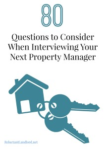 80 Questions to Consider When Interviewing Your Next Property Manager