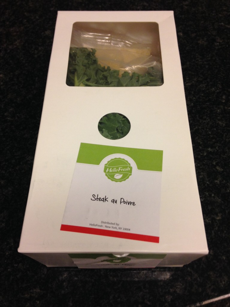 Individual Hello Fresh Box